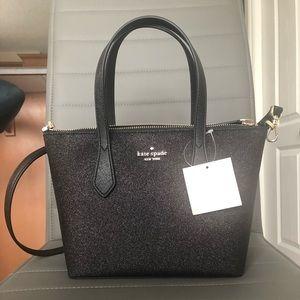 Kate Spade Black Glitter Handbag